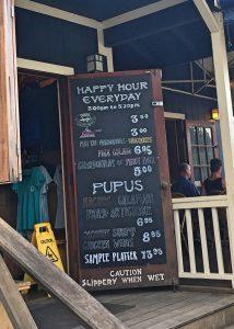 Kalypso happy hour Kauai