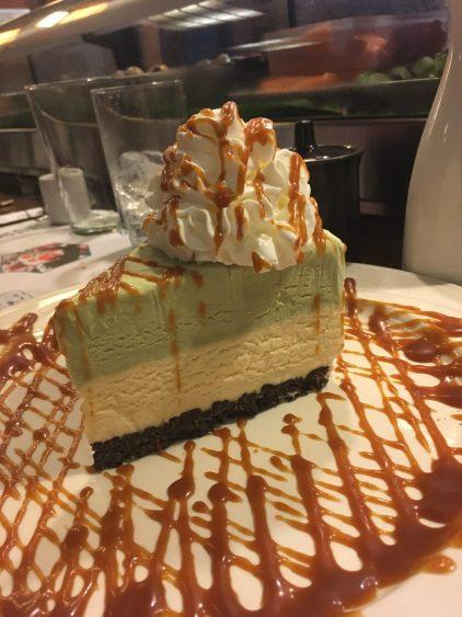 desert at Kintaro sushi