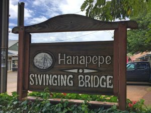 Hanapepe Sign