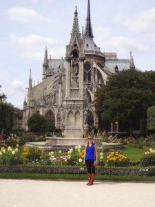 Rachel at Notre Dame