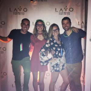 Grant Rachel and Friends at Grant and Rachel at Lavo brunch