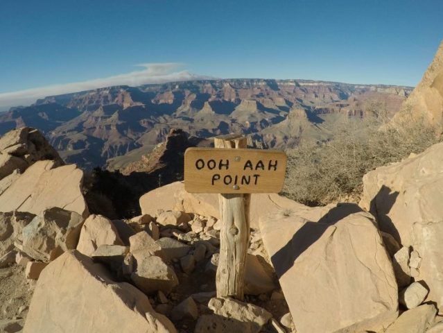 Edge of south kaibab trail