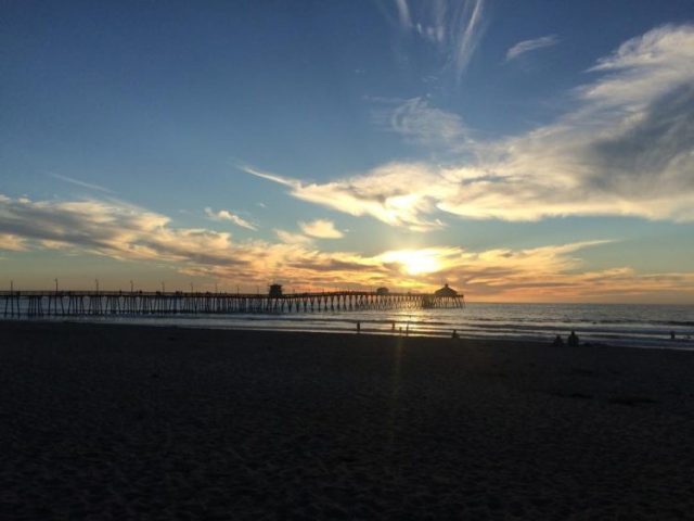 Ocean Beach Pier at Sunset