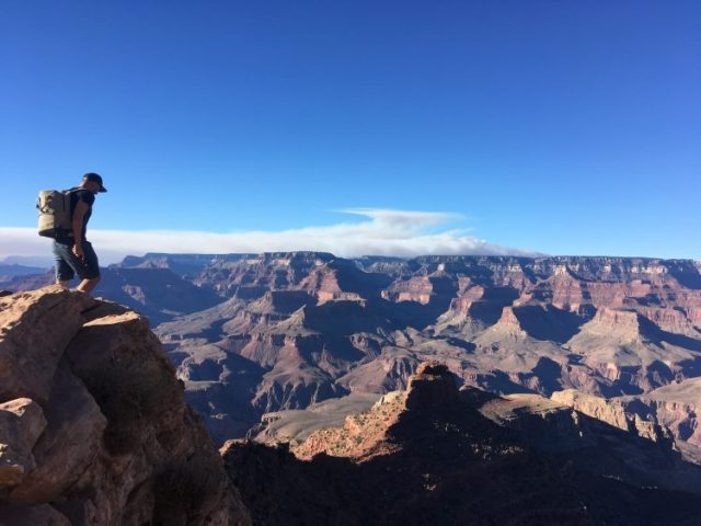 Grant on South Kaibab Trail