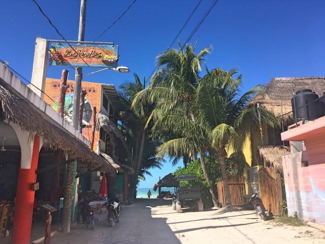 downtown isla holbox
