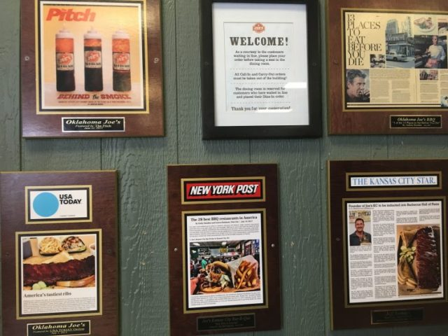 Joe's Kansas City BBQ awards