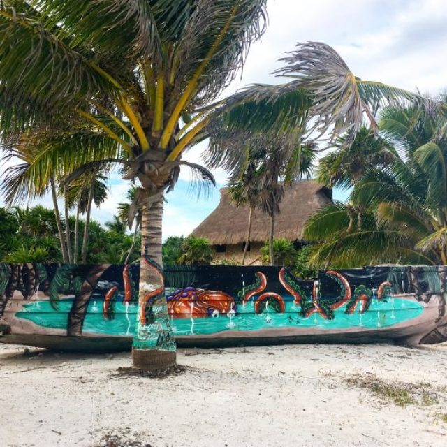 soliman bay boat- tulum day trips