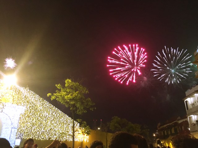 fireworks cartagena