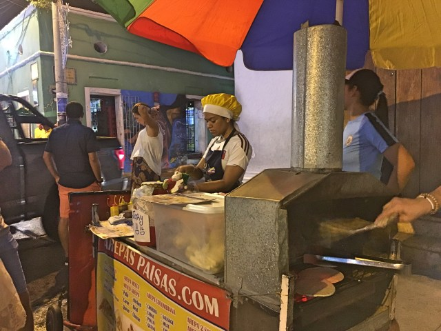 street food cartagena