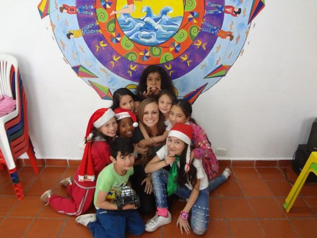 volunteering in bogota