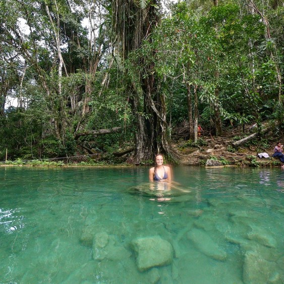 pool at semuc champey