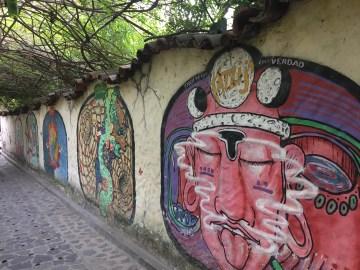 san marcos la laguna street art