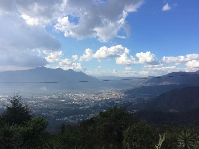 View from San Cristóbal El Alto