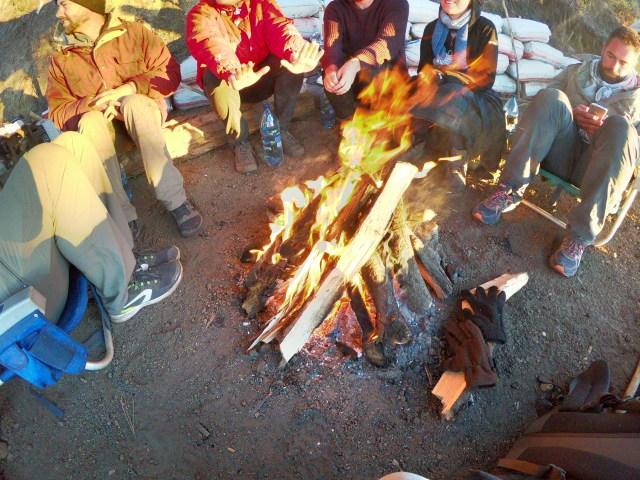 basecamp bonfire