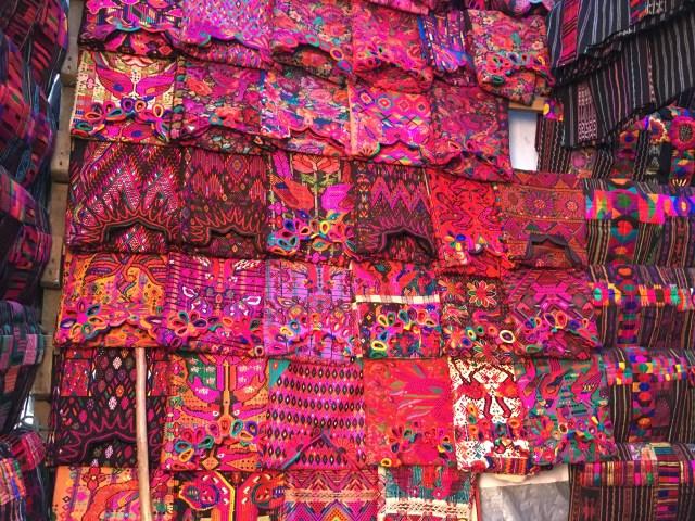 clothes at chichicastenango