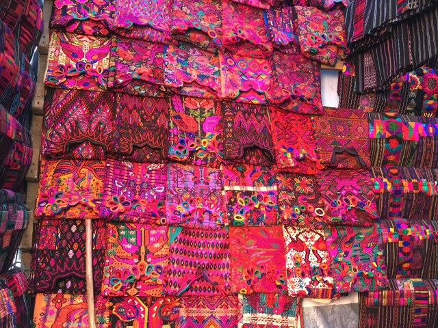 clothes at chichicastenango