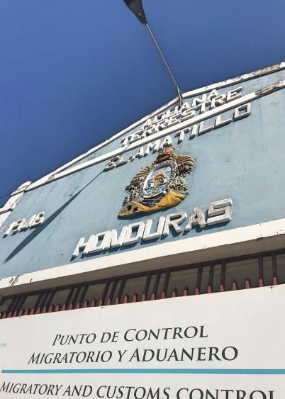 honduras border crossing
