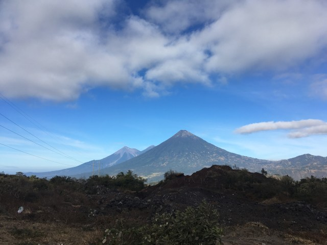pacaya volcano views