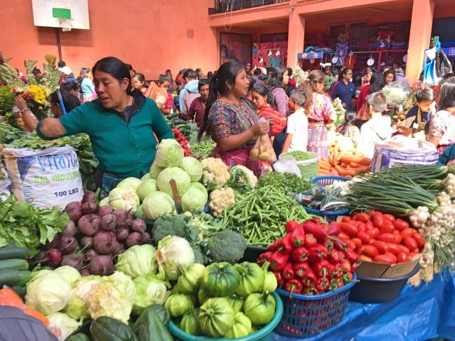 produce at chichicastenango