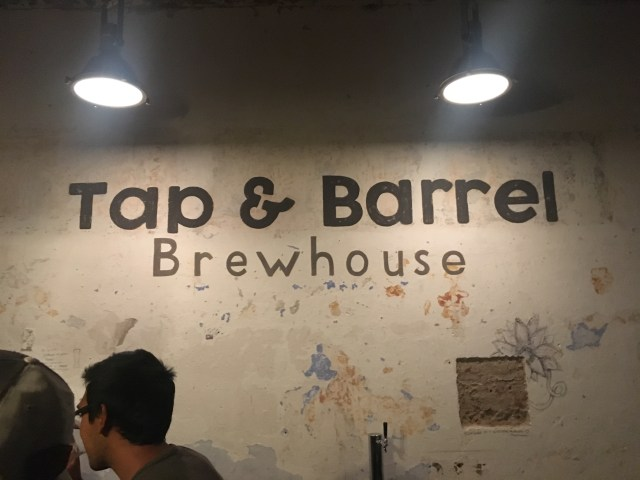 tap and barrel brewery antigua