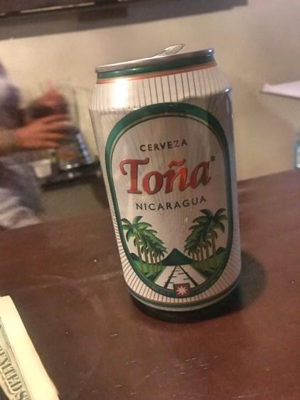 tona beer nicaragua