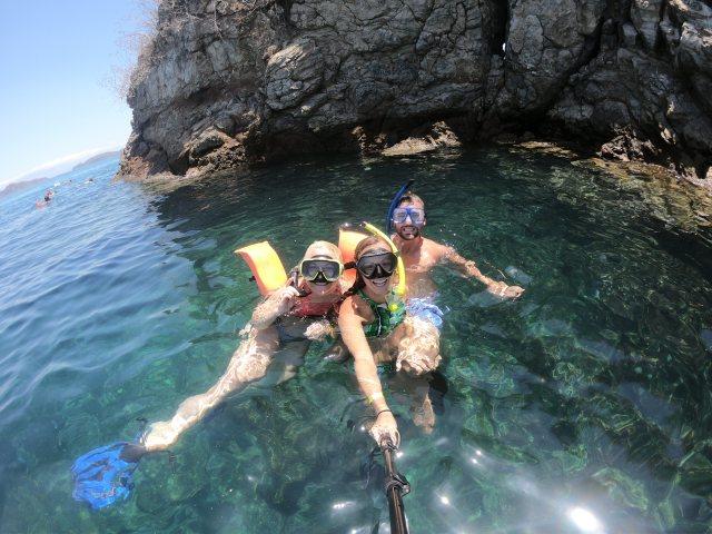 snorkeling tortuga island
