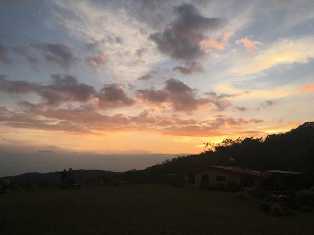 sunset monteverde