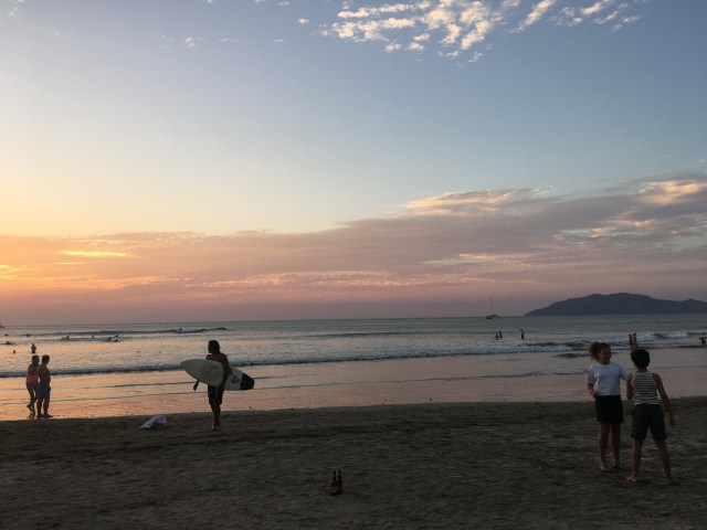 tamarindo sunset