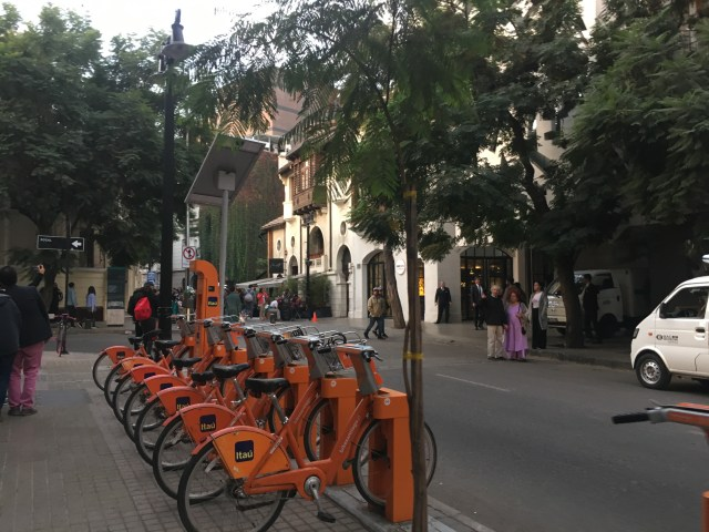 bikes in santiago