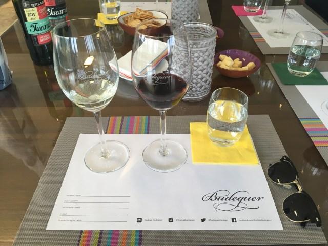 wine tasting at budeguer