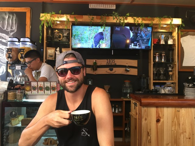 best coffee in galapagos