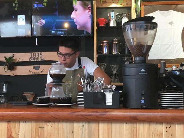 galapagos coffee shop