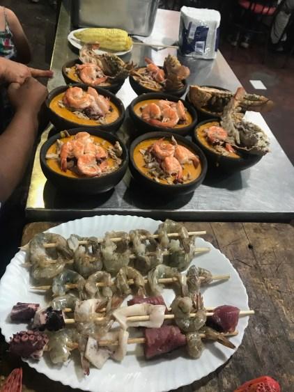 galapagos seafood