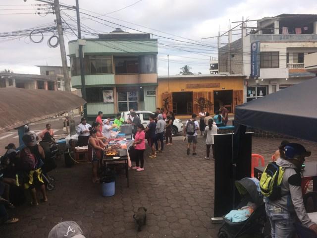 galapagos street food