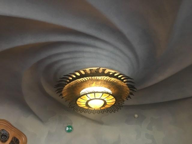 casa batlo ceiling