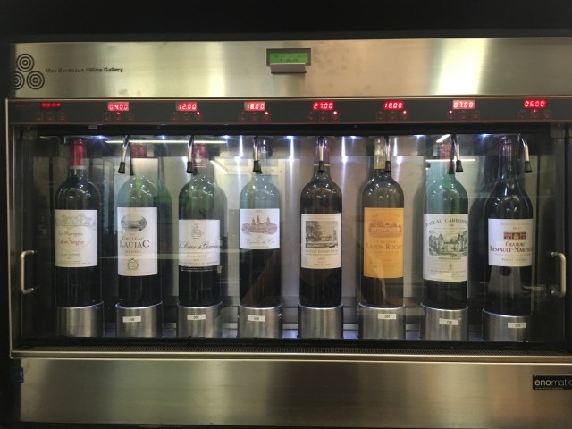 pour your own wine bar