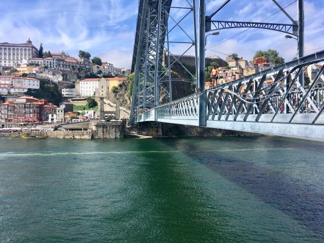 jumping bridge porto