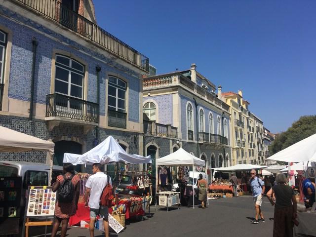 lisbon flea market