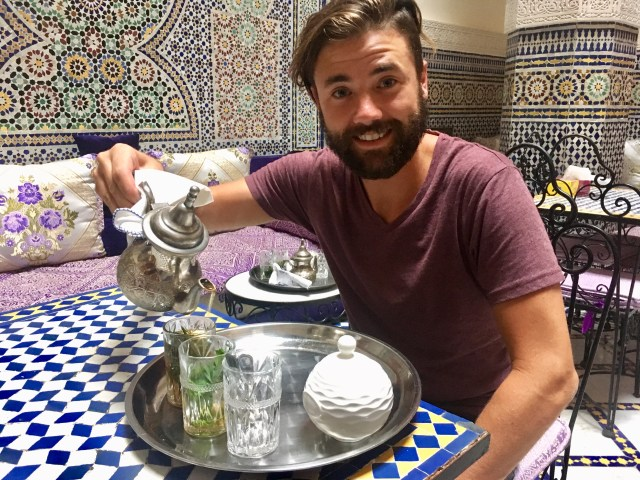 mint tea riad