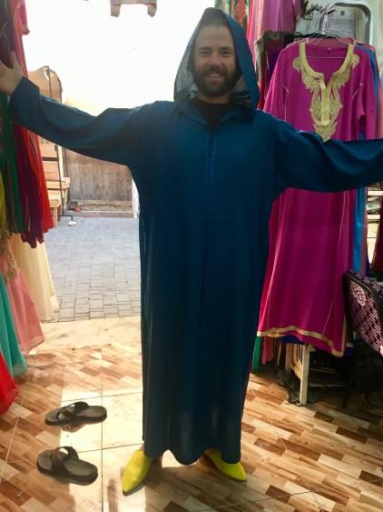 robe in morocco
