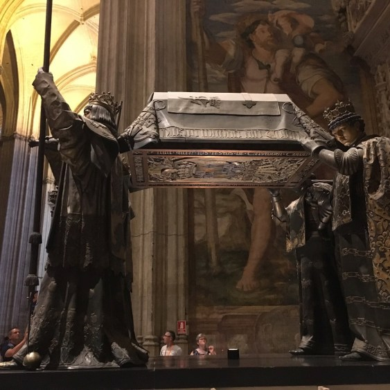 christopher colombus' tomb