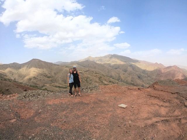 morocco road trip views