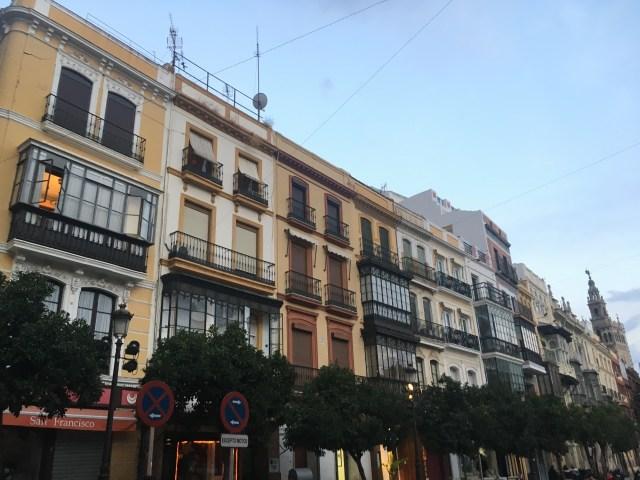 sevilla spain street