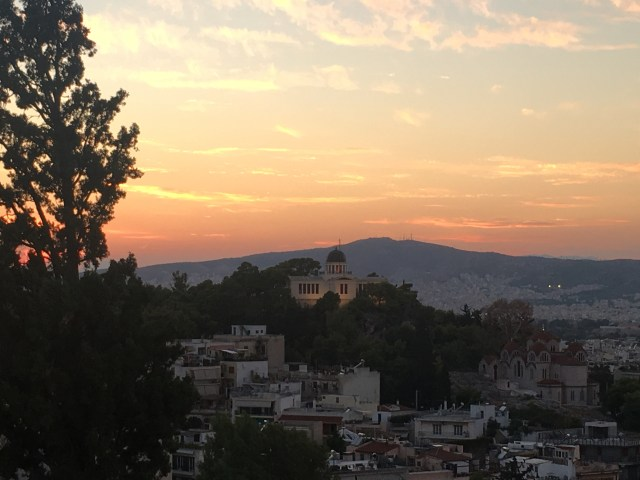 athens hill of mars
