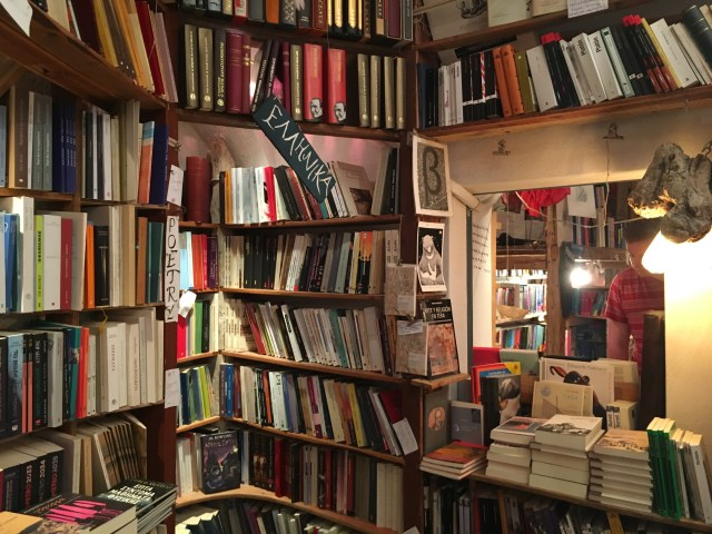 oia bookstore santorini