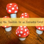 Making Mini Toadstools