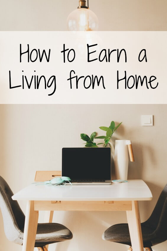 How To Earn A Living From Home