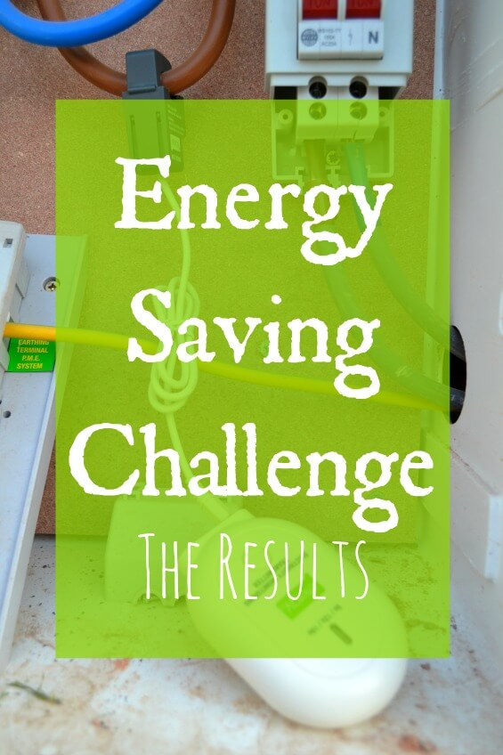 Energy saving challenge - The Results