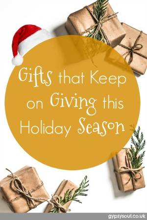 Gifts that keep on giving this holiday season #Gifts #Holidays #Christmas #Festive #Presents