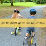 How to pick the perfect bike for your kids Christmas present